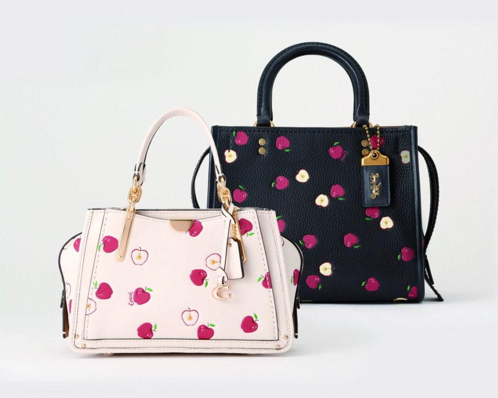 コーチの新作「アップルプリント」のバッグと小物が可愛すぎ♡【日本限定アイテム】