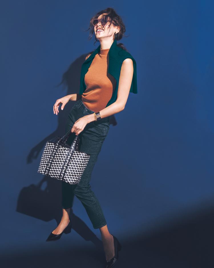 【今日の服装】秋の「ハンサムスタイル」に必須の色って?【アラサー女子】