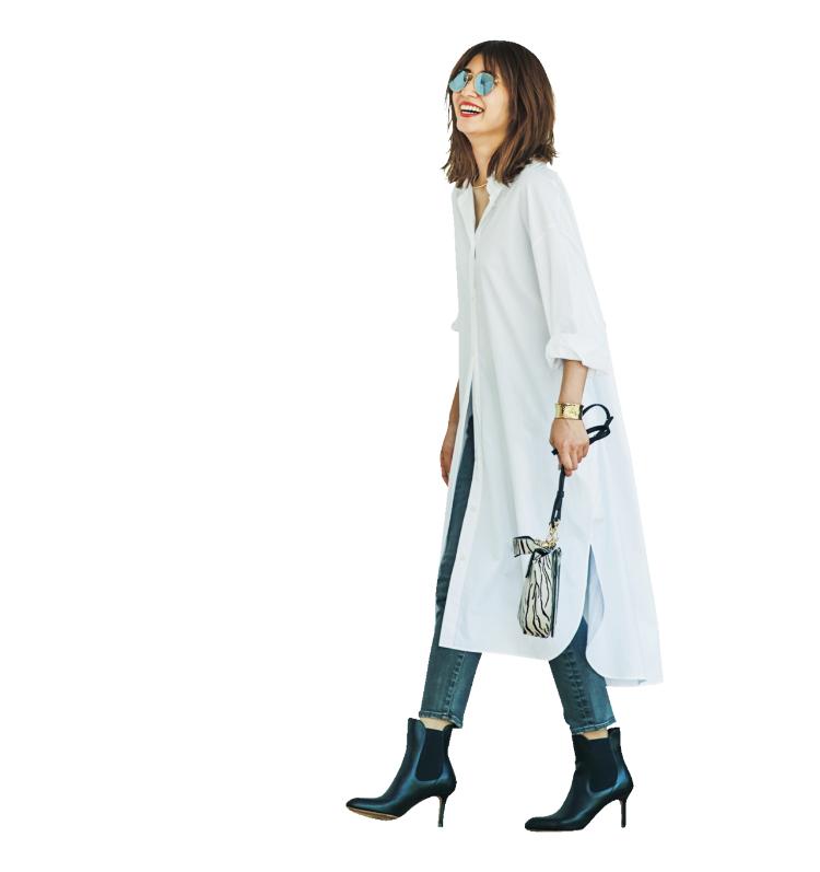 【明日の服装】「シンプルハンサム」なブーツコーデの秘密は…?【アラサー女子】