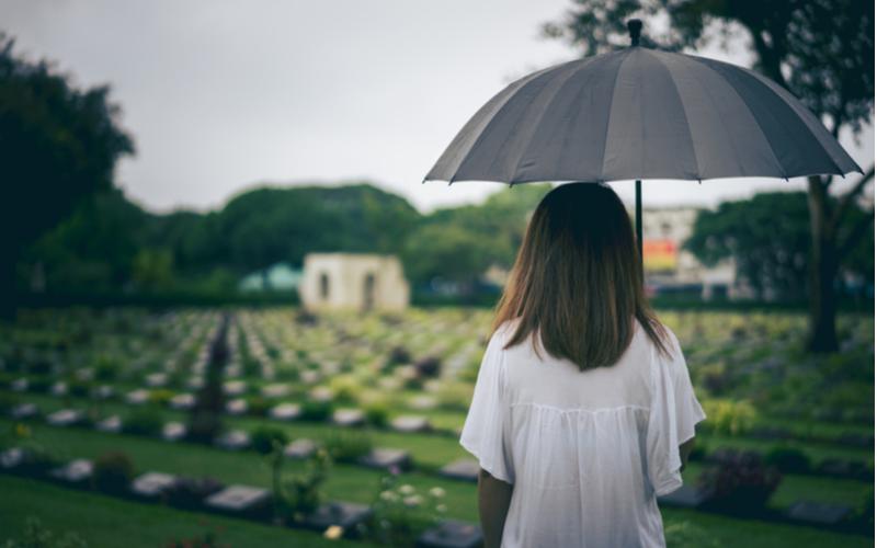 「親族が亡くなって一年未満にプ
