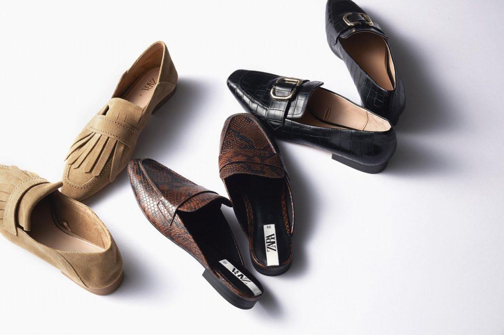 【ZARAの新作ぺたんこ靴】で楽ちんオシャレ!Sサイズ女子に似合う「通勤カジュアル」3選