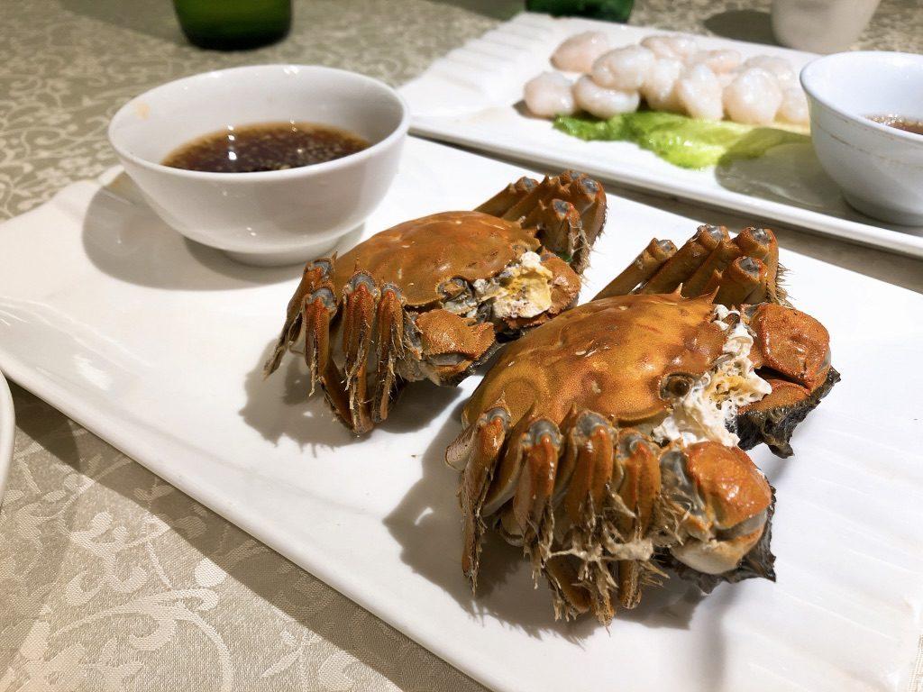 上海の秋の味覚といえば「上海蟹