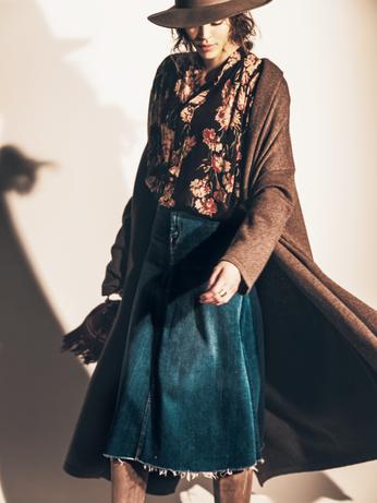 【簡単オシャレ!】アラサーに似合う「デニムスカート」7選【スタイルアップ】