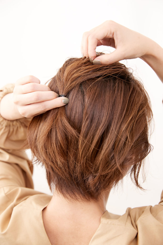 ショート編 伸ばしかけの髪をごまかすテクニック6選 次の髪型まで