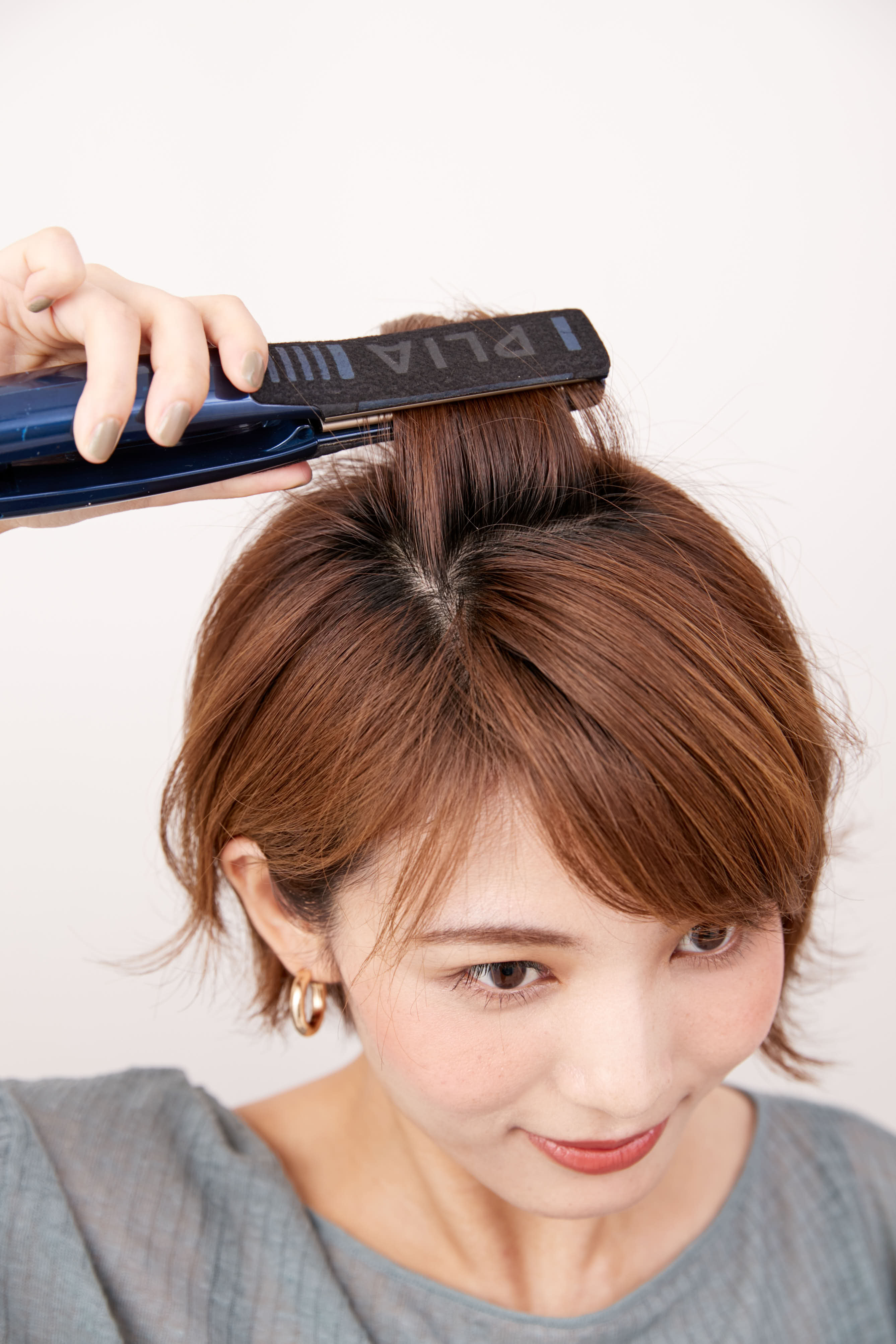 かけ 前髪 伸ばし