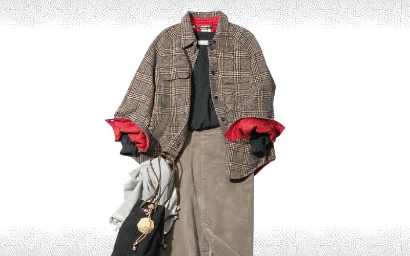 タイトスカートは女らしさをカジュアルダウンして着こなして【今日のコーデ|着回しDiary】