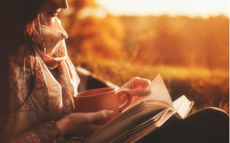 本などを読んでいて、つい時間を