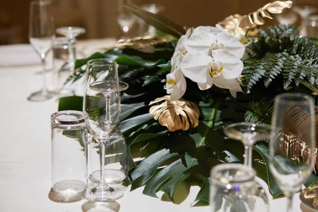 結婚式当日、新郎新婦は大忙し!