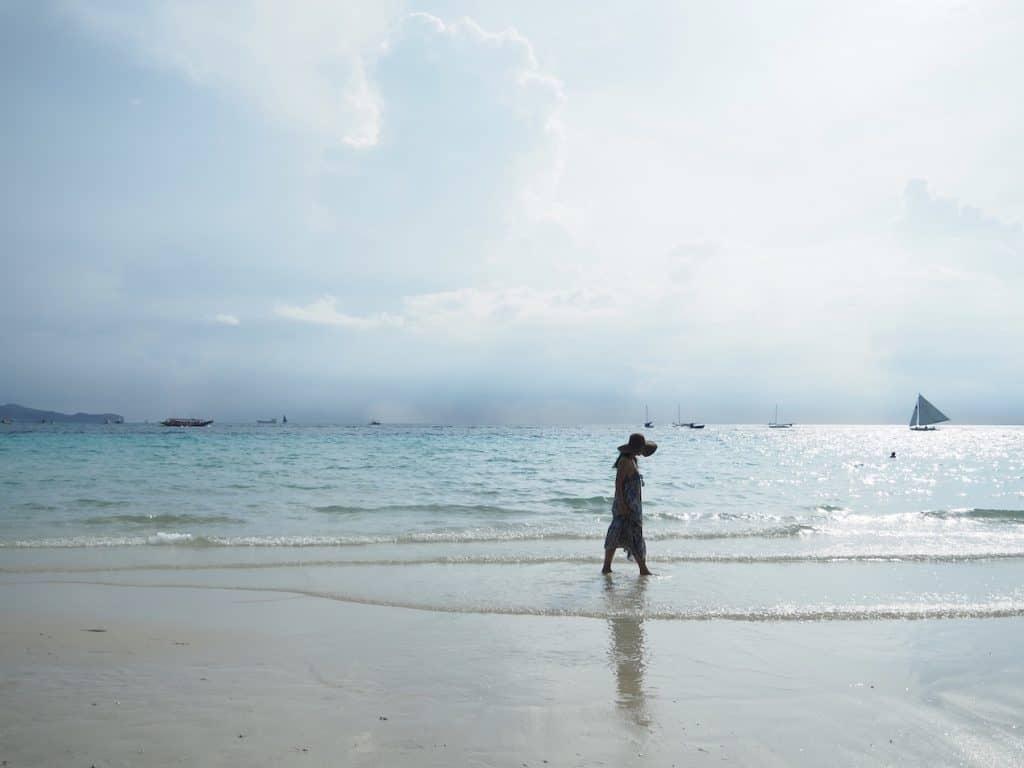 メインビーチである「ホワイトビ