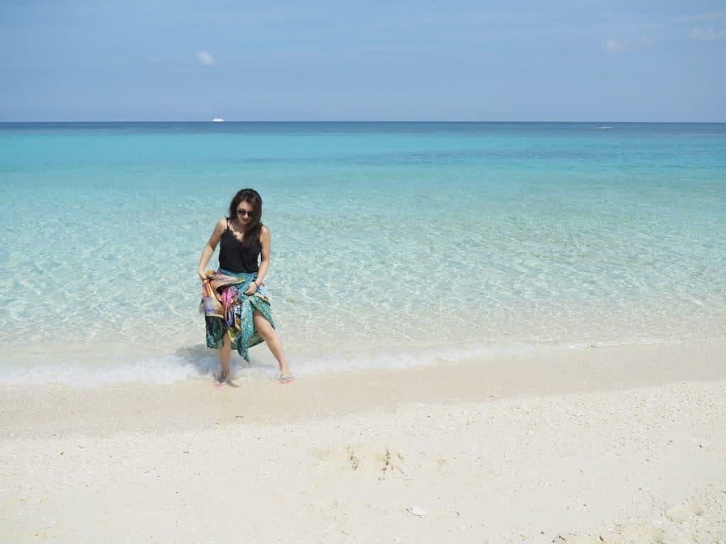 せっかくボラカイ島に来たのであ