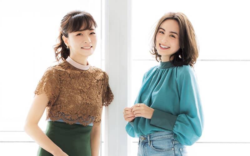 【美容対談】オードリー亜谷香×石井美保「30歳からのキレイの秘訣」