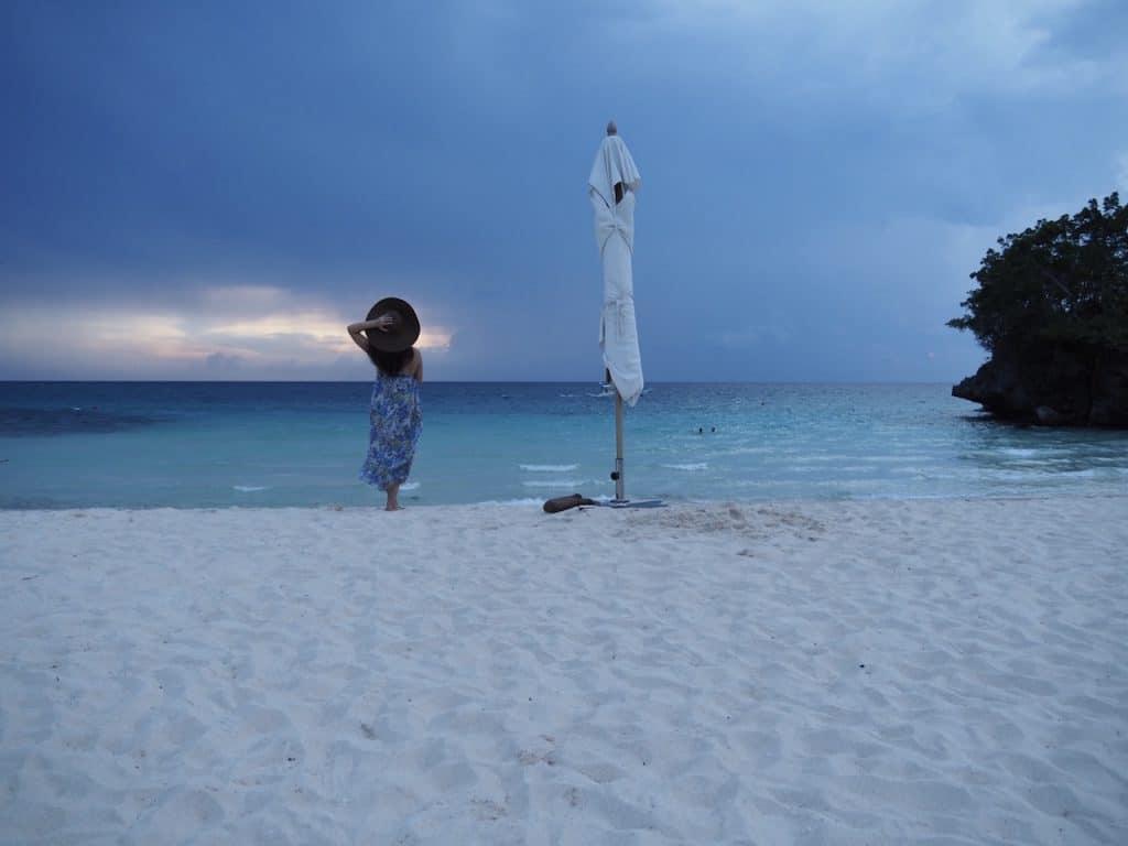 ボラカイ島は海がとても綺麗なこ