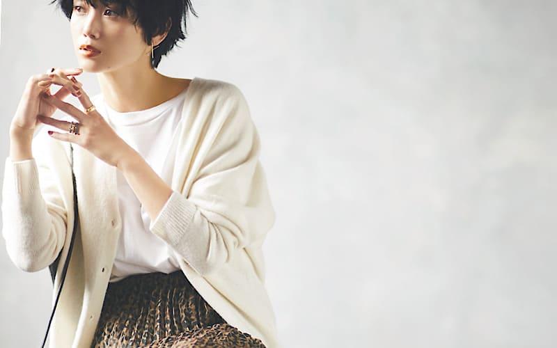 【今日の服装】カーディガン、今年の秋コーデの正解サイズは?【アラサー女子】
