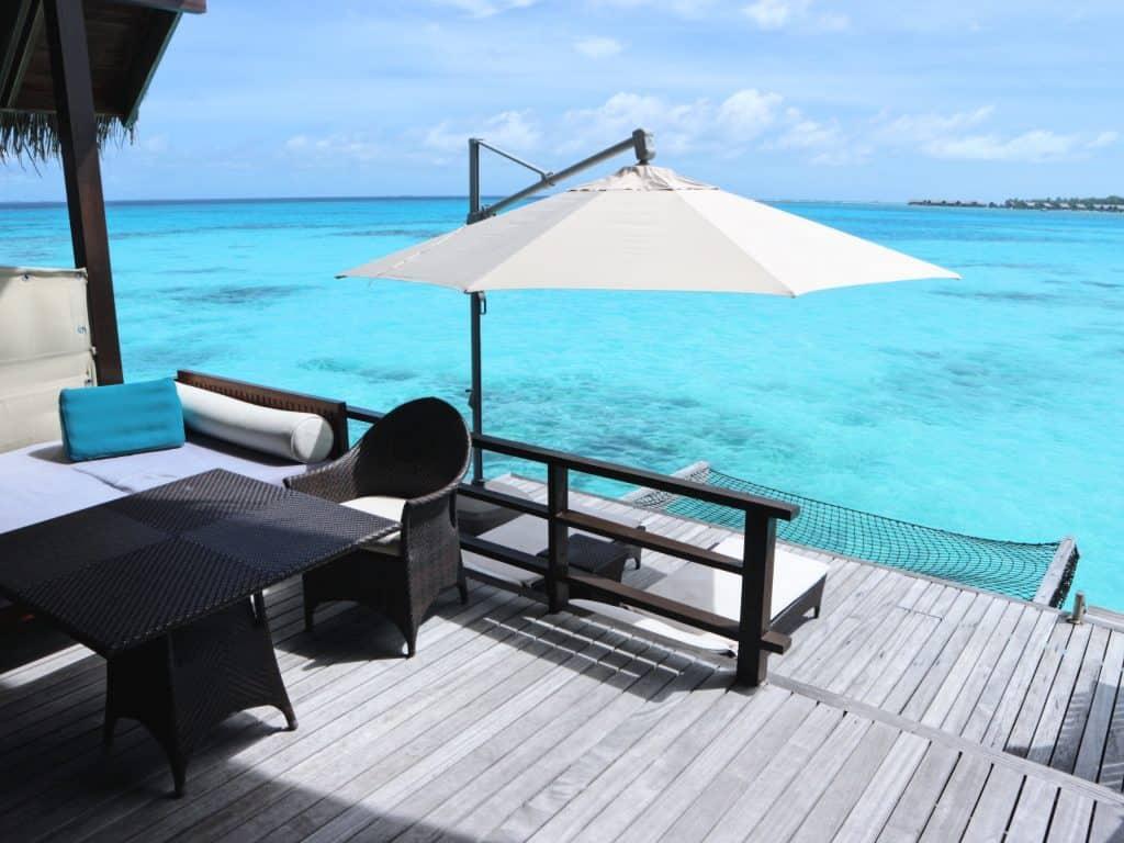 1島1リゾートのモルディブでは