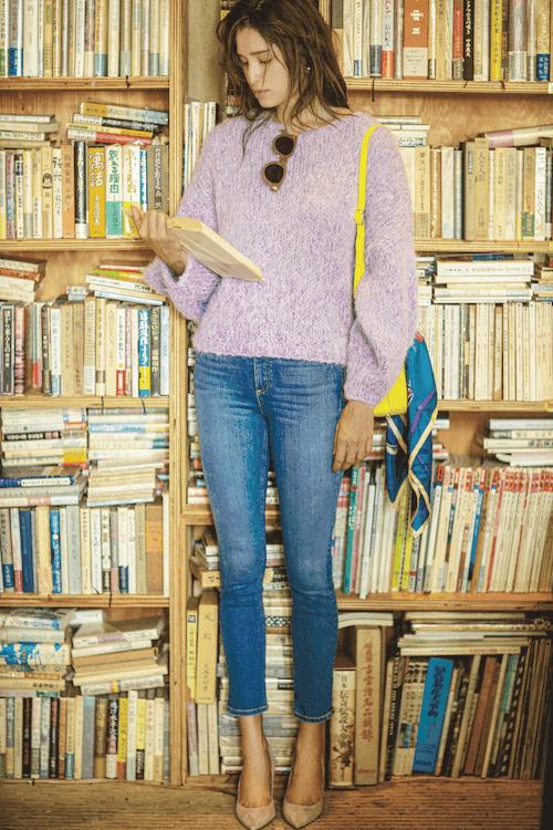 この秋はデニムが大人気!「好きなコーデランキング」ベスト10【CLASSY.10月号】