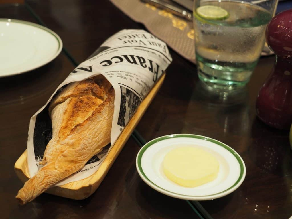本格的なフランス料理が楽しめる