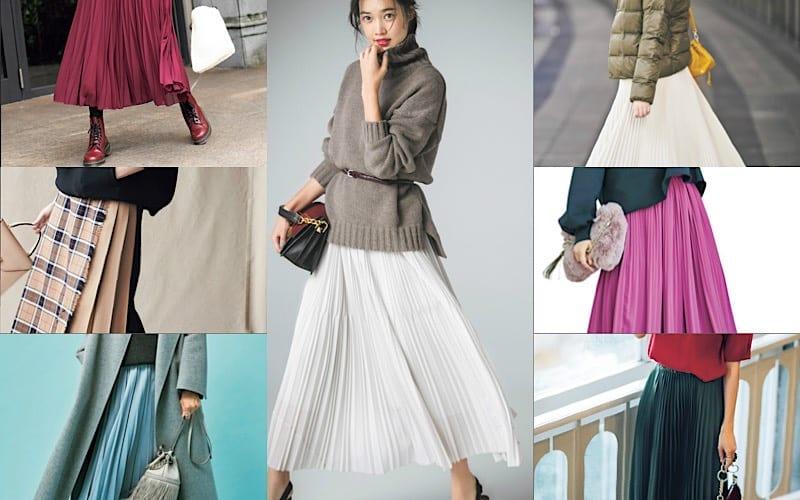 「プリーツスカート」のおすすめコーデ7選|きれいめもカジュアルもOK!