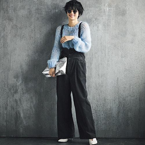 【今日の服装】甘めニットでも「大人っぽく」見せるコーデは?【アラサー女子】