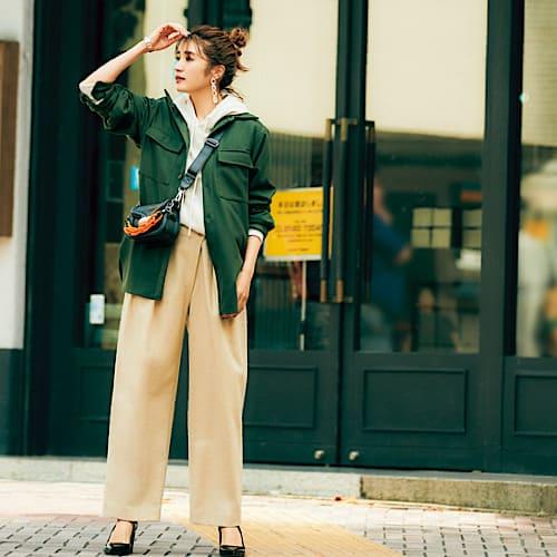【今日の服装】大流行の「CPOジャケット」でどんなコーデにする?【アラサー女子】