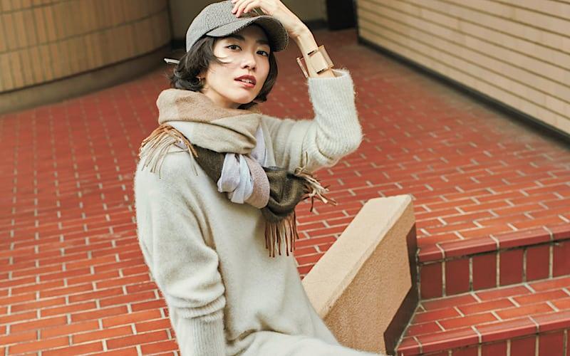 【今日の服装】ワントーンコーデ、メリハリを出すポイントは?【アラサー女子】