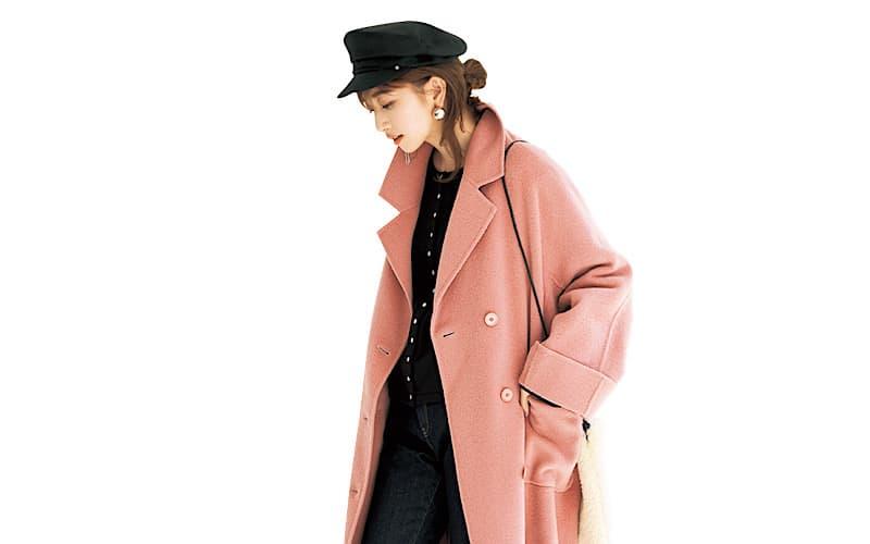 【今日の服装】キレイ色アウターコーデ、子供っぽく見えないポイントは?【アラサー女子】