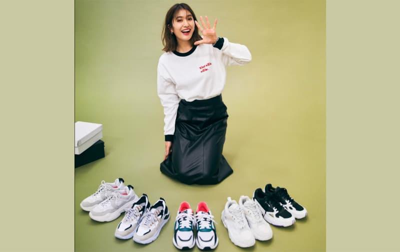 〝スニーカー大好きすぎるモデル〟有末麻祐子さんオススメの5足とは?