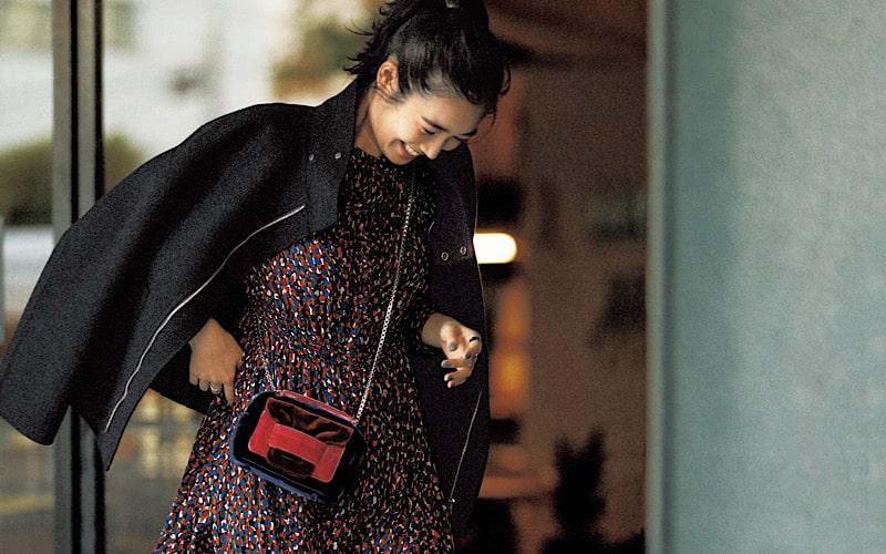【今日の服装】「フェミニンコーデ」を大人っぽく見せるには?【アラサー女子】