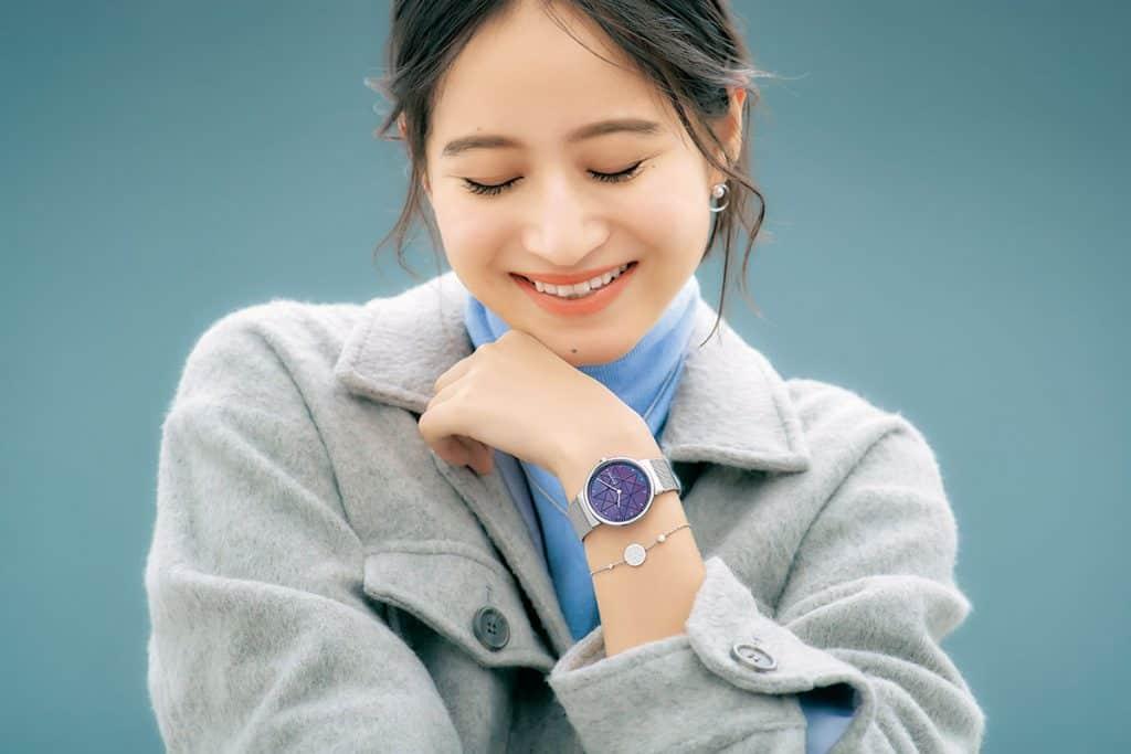 大人カジュアルの仕上げにSKAGENの腕時計