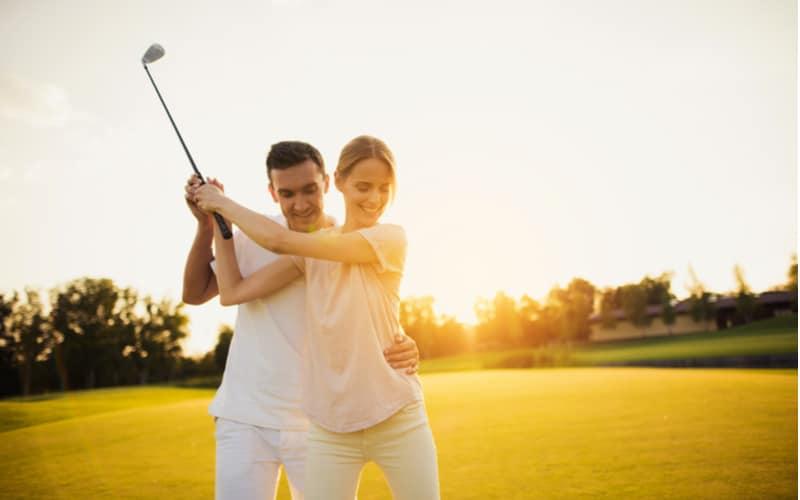 「妻は大のゴルフ好きなので、妻