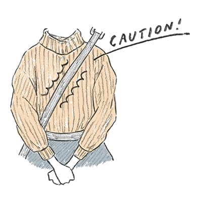 【ニット専門家が教える「毛玉対策」】毛玉にならない着こなし&毛玉をキレイに取る方法