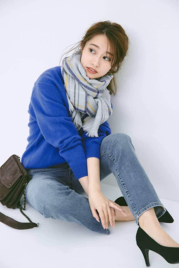 桜井玲香の「ユニクロニット」コーデはとにかく女っぽい!