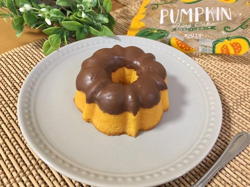 かわいくて、超ずっしり!なパンプキンケーキ