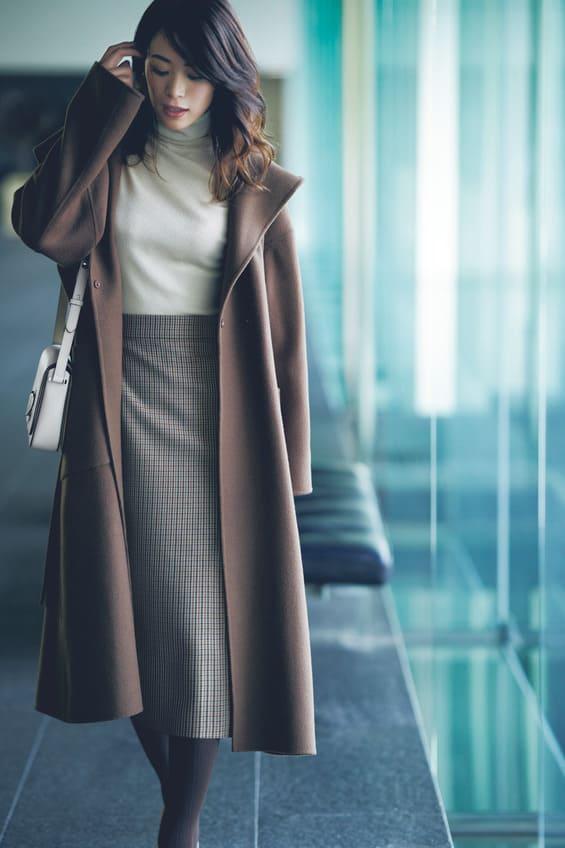 【通勤服をミニマム化】差し色はNG!「ブラウン」だけでオシャレになれる!