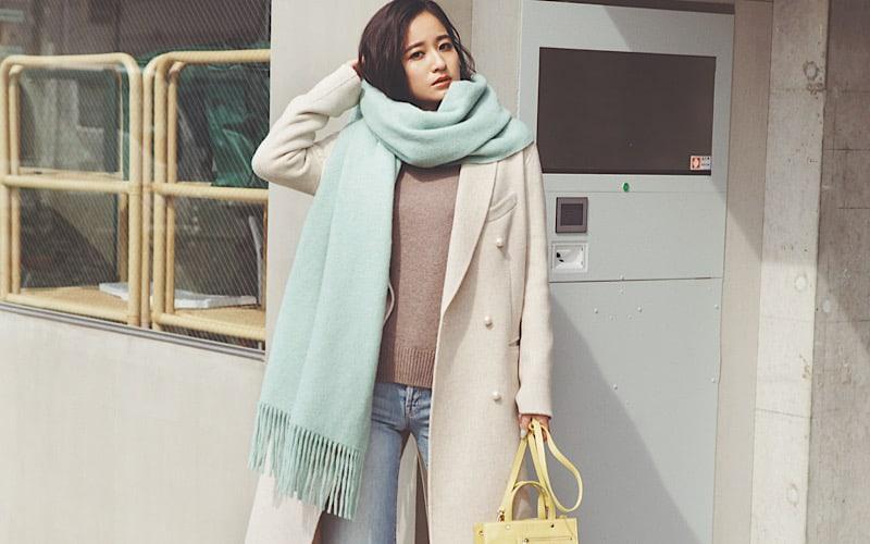 【今日の服装】冬の最新コーデ!好印象のオールペールトーン配色とは?【アラサー女子】