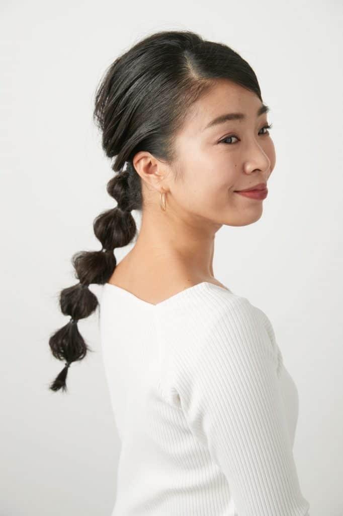 今回のモデルは… 髪が多い・く
