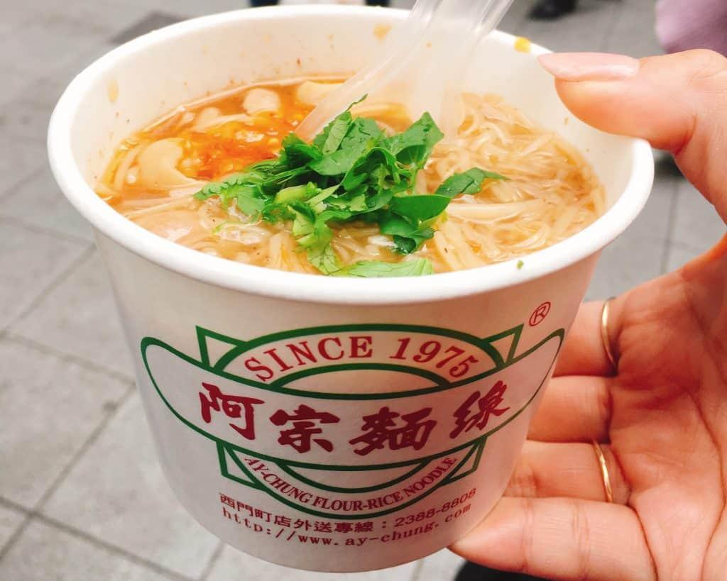 台湾のソウルフード「麺線」は台
