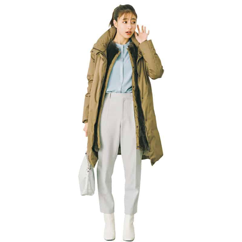 今年のブーツは「白」一択!意外と何でも合うんです【今日の着回しDiary】