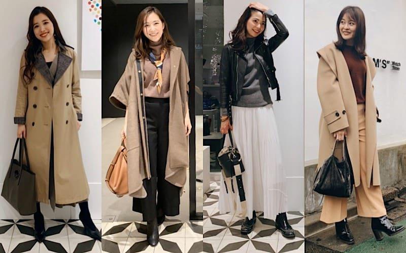 【気温10度の日】CLASSY.読者モデルの冬コーデを抜き打ちチェック!