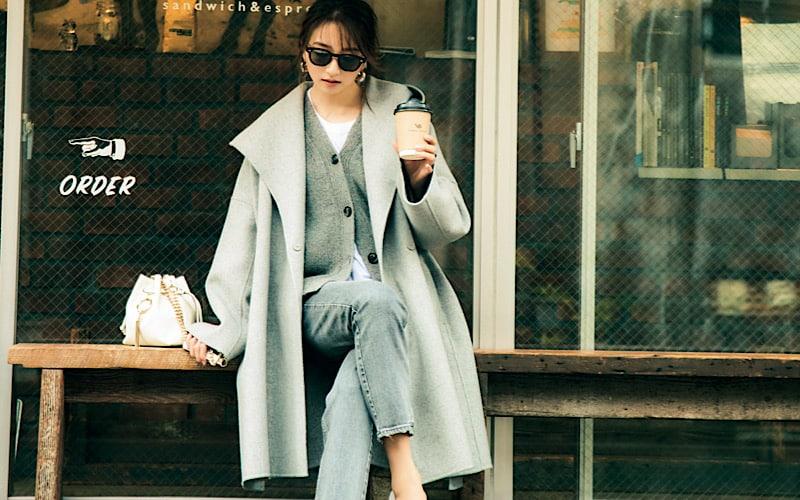 【今日の服装】モテ色「グレー」ワントーンの着こなし、差をつけるには?【アラサー女子】