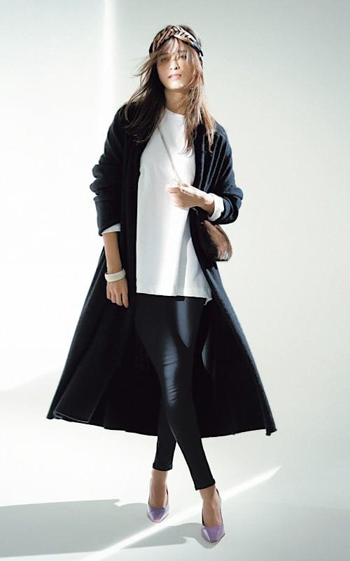 【今日の服装】黒スキニーを女っぽく着こなす秘訣は?【アラサー女子】