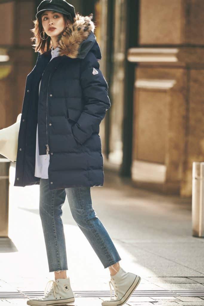 ロング丈『ダウンジャケット』の真冬コーデ8選|ダウンコートで通勤も休日もスタイルアップできる!