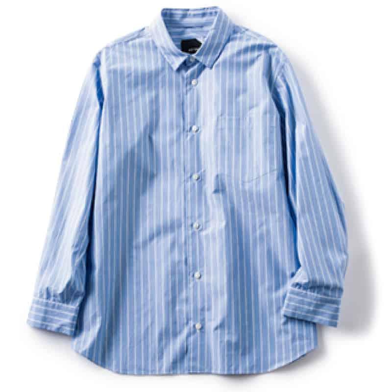 ④ブルーシャツ オンオフ活躍す