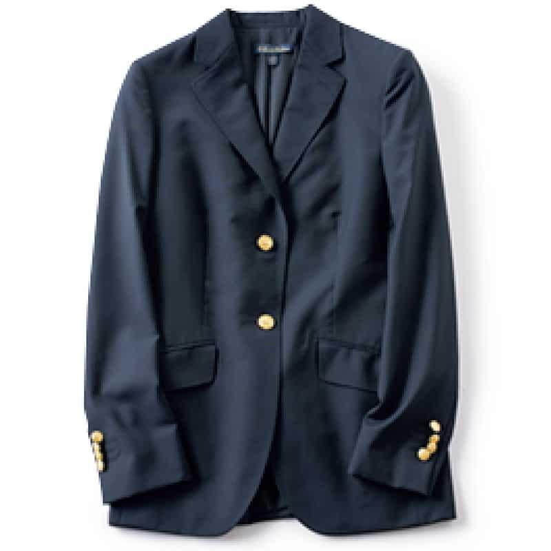 ⑤ジャケット きちんと感で、定