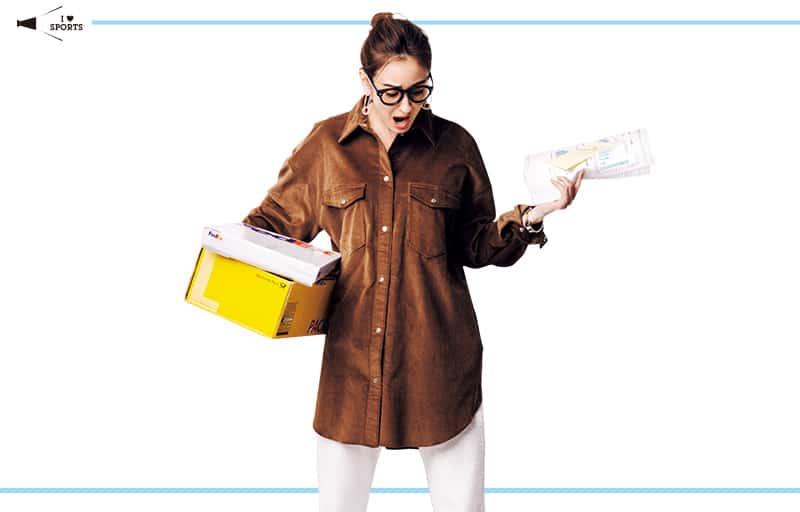 ビッグシャツ×スウェットパンツはヒールで女らしくまとめて【真冬の着回しDiaries Part①】
