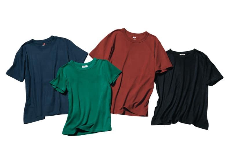 「Tシャツはどんな色でも簡単に