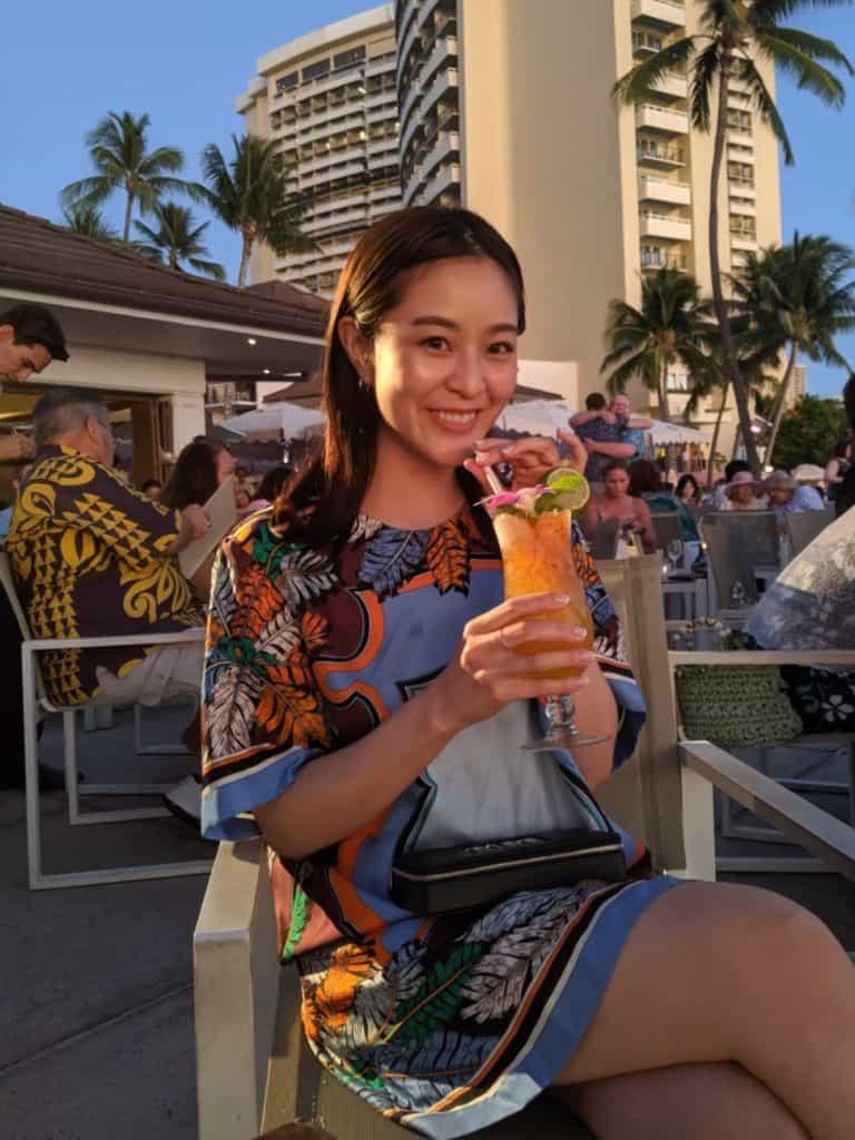 1日目の夜は、大人のハワイの夜