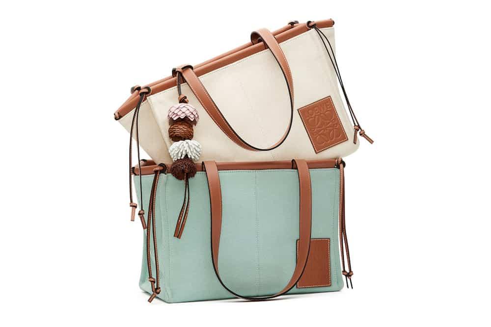 大人気♡「ロエベ」の名品トートバッグにNEWミニサイズが!|2020年最新ブランドニュース