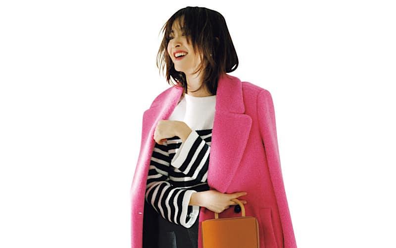 【今日の服装】ビビッドピンクを大人っぽく着こなすには?【アラサー女子】