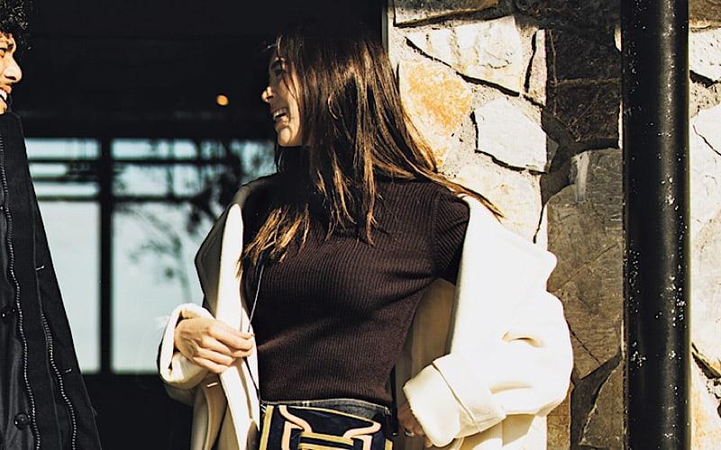 【今日の服装】ゆるアウターで作る、冬のモテデニムスタイルとは?【アラサー女子】