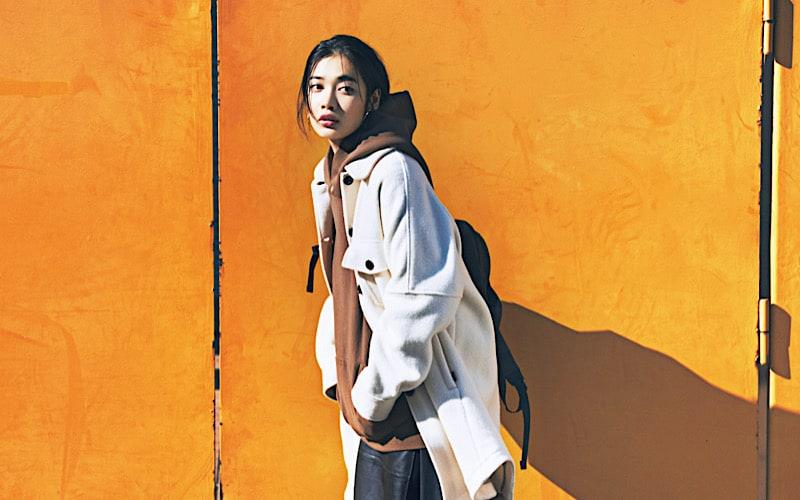 【今日の服装】「長め×長め」の今っぽいカジュアルスタイルって?【アラサー女子】